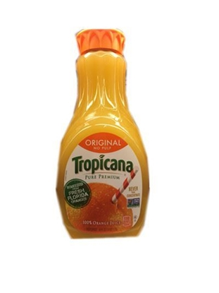 Picture of tropicana pure pemium 无粒橙汁(瓶)(约1.5L)