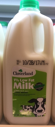 Picture of cloverland 牛奶 1%低脂(桶)(约1.89L)