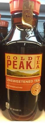 Picture of gold peak 无糖茶(瓶)(约1.7L)