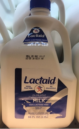 Picture of lactaid 牛奶 2%脂肪(桶)(约2.8L)
